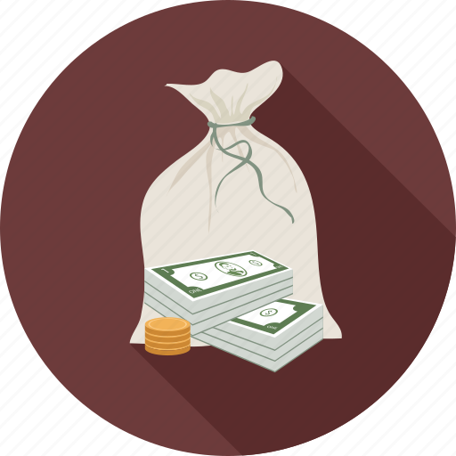 money, money bag icon