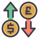 exchange, currency, money, dollar, pound, sterling, trade