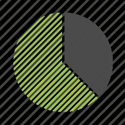 analytics, chart, circle, diagram, finance, graph, pie, report, statistics icon