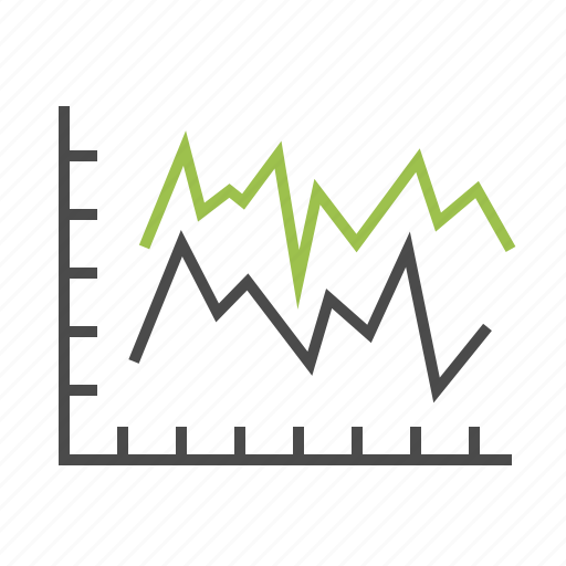 analytics, axis, chart, finance, graph, report, statistics icon