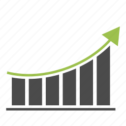 analytics, arrow, diagram, graph, growth, report, statistics icon