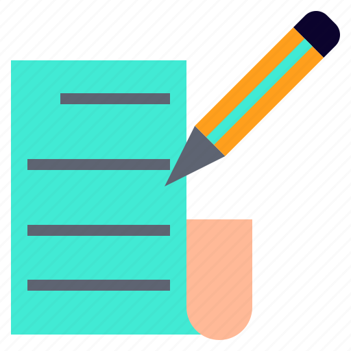 Autograph, manuscript, progenitor, script, text icon - Download on Iconfinder