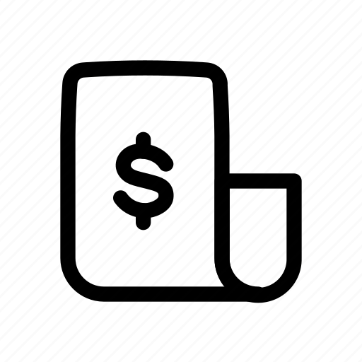 Banking, document, file, financial, form, paper icon - Download on Iconfinder