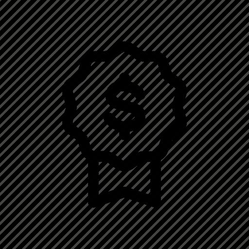 Achievement, award, bank, certification, money, reputatuin icon - Download on Iconfinder