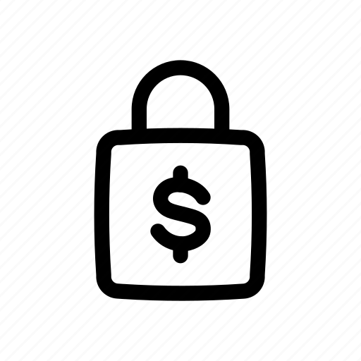 Banking, finance, lock, money, padlock, protection, security icon - Download on Iconfinder