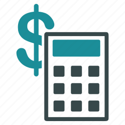 accounting, business, calculate, calculator, dollar, money, payment icon