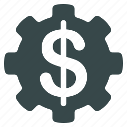 bank, business, dollar, financial, gear, money, options icon