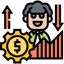 trader, stock, market, analysis, economy