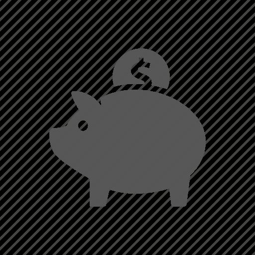 banking, business, finance, pig, piggy bank, safe icon