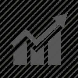 diargam, gainer, graph, icrease, trend icon