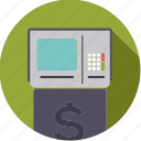 atm, bank, finance, finantix, machine, money, transaction icon