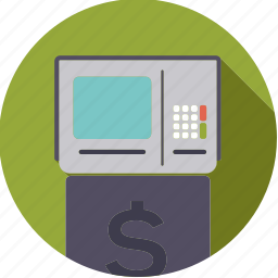 atm, bank, finance, finantix, machine, money, transaction icon