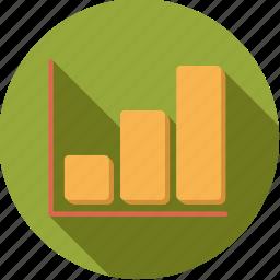 accounting, bar, chart, finance, finantix, graph icon