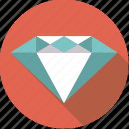 diamond, finance, finantix, gem, jewelry, luxury, wealth icon