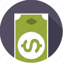 american, bill, currency, dollar, finance, finantix, money icon