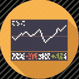 chart, exchange, finance, finantix, graph, shares, stock icon