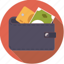 bill, cash, credit card, finance, finantix, money, wallet icon