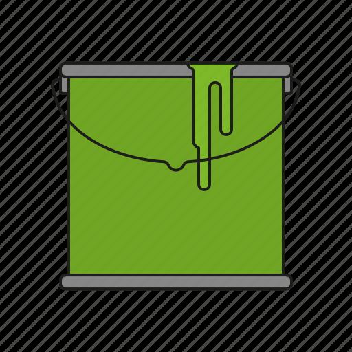 art, bucket, design, graphics, paint, publishing icon