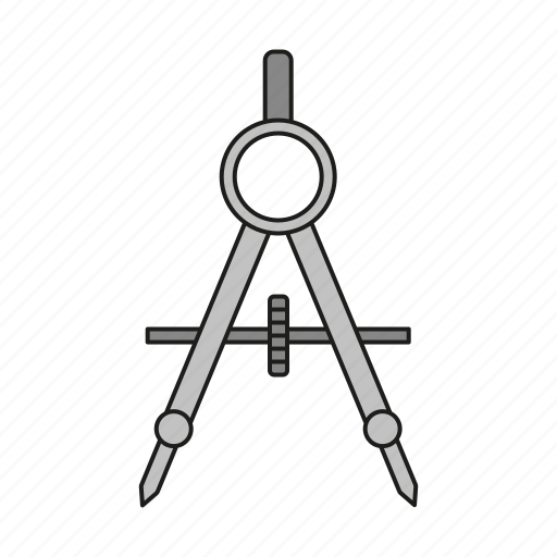 art, compass, construction, design, graphics, publishing, utensil icon