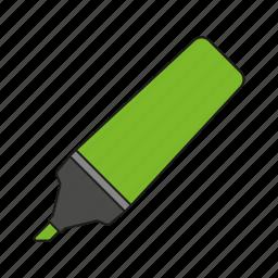 art, design, felt tip pen, graphics, highlighter, publishing icon