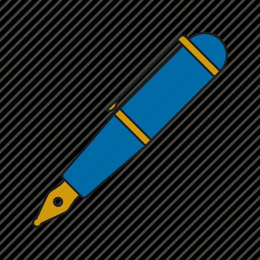 art, copywriting, design, fountain pen, graphics, publishing, writing icon
