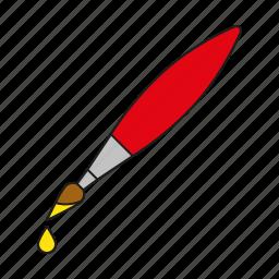 art, design, graphics, paint brush, painting, publishing icon