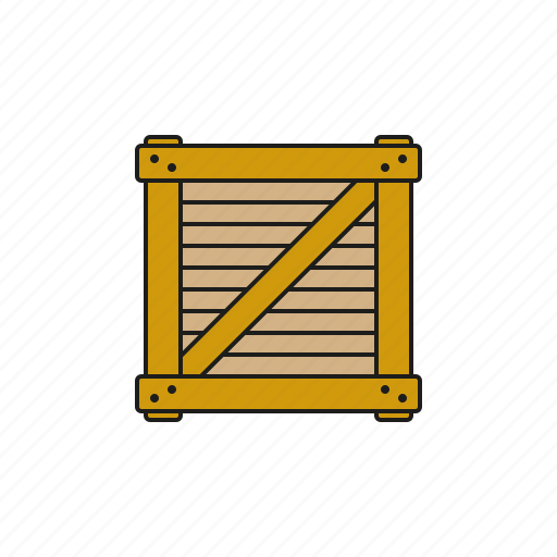 box, cargo, crate, freight, logistics, shipping, transport icon