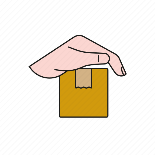 cargo, freight, insurance, logistics, protection, shipping, transport icon