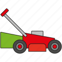 equipment, garden, gardening, lawnmower, tool icon