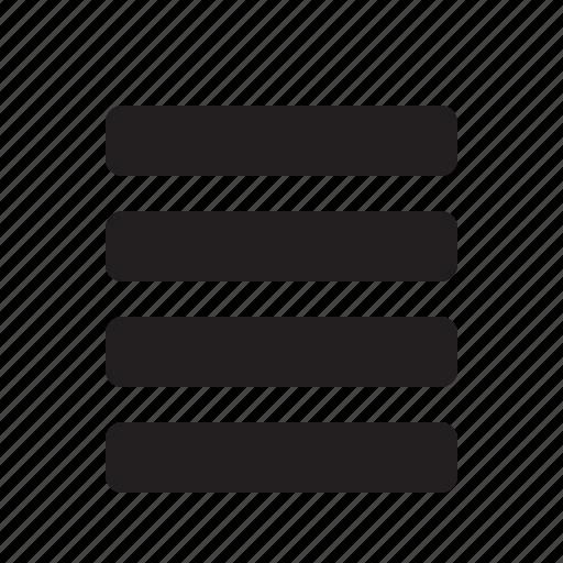 align, editor, justify icon