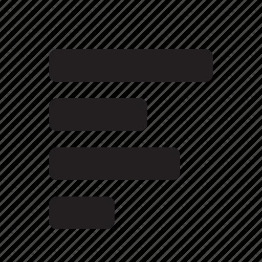 align, editor, left icon