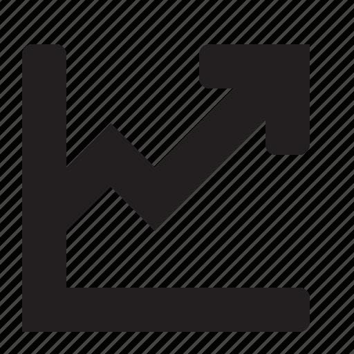 chart, editor, line icon