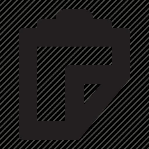 clipboard, editor, paste icon