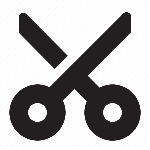 cut, editor, scissors icon