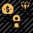 balance, money, price, value, worth icon