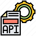 api, application, assistant, function, program icon