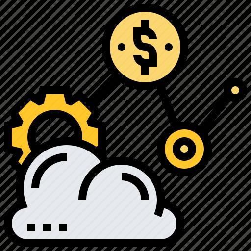 Cloud, saas, service, software, storage icon - Download on Iconfinder