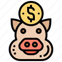 budget, deposit, earning, saving, wealth icon