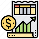 expense, finance, government, income, tax icon