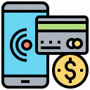 credit, online, payment, solution, transaction icon
