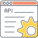api, application programming interface icon