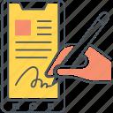 digital signature, electronic signature, electronic signing