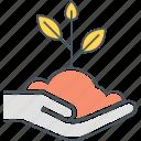 growth, plant, seeding, seedling icon