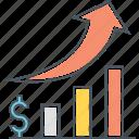 chart, growth, statistics icon