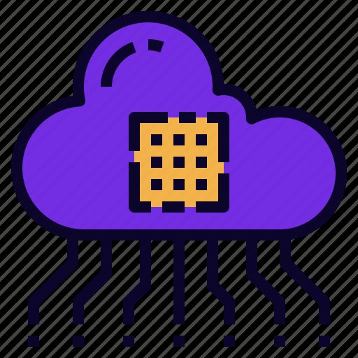 api, cloud, data, integration, program, technology icon