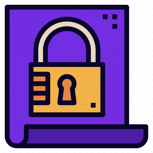 data, encription, lock, protected, secret, security icon