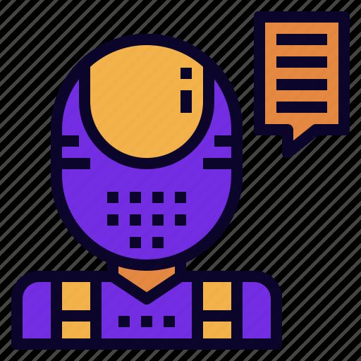 advisor, ai, assistant, chatbot, robo, robot icon
