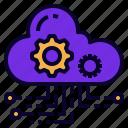 as, cloud, hosting, saas, service, softwear icon