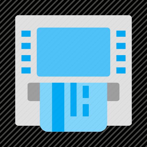 Atm, card, cash, credit, debit, fintech, money icon - Download on Iconfinder