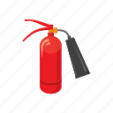 cartoon, danger, emergency, equipment, extinguisher, fire, protection icon